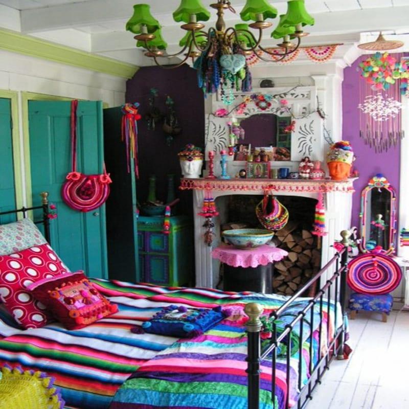 schlafzimmer gestalten-farbrausch schöner wohnen - fresHouse