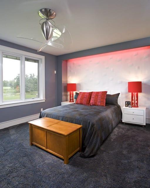 schlafzimmer grau mit teppich grau - fresHouse