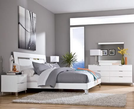 schlafzimmer grau raumgestaltung freshouse. Black Bedroom Furniture Sets. Home Design Ideas