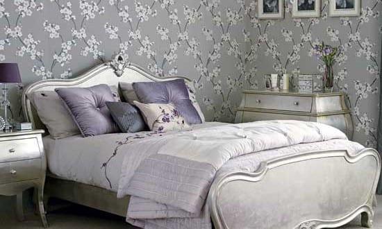Tapete schlafzimmer grau  schlafzimmer grau-tapete grau - fresHouse