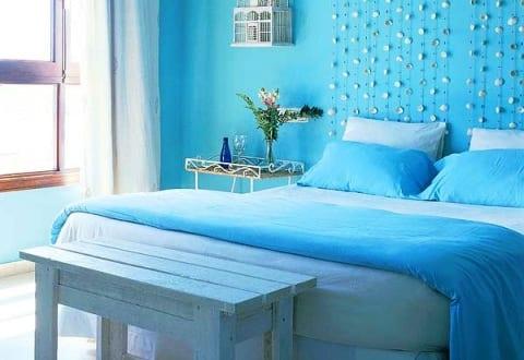 Schlafzimmer Blau - Farbgestaltung zur Erholung und zum Stressabbau ...