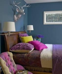 schlafzimmer wandfarbe-schöner wohnen farbrausch