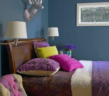 schlafzimmer wandfarbe-schöner wohnen farbrausch - fresHouse