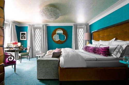 schlafzimmer wandfarbe – schlafzimmer blau