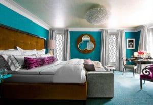 schlafzimmer wandfarbe - schlafzimmer blau