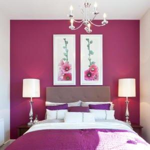 schlafzimmer wandfarbe-schlafzimmer dekorieren