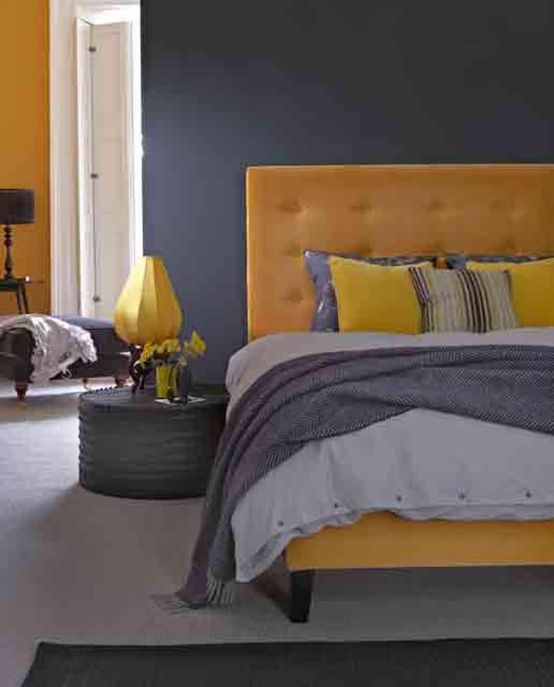 Schlafzimmer Wandfarbe Schlafzimmer Streichen Ideen