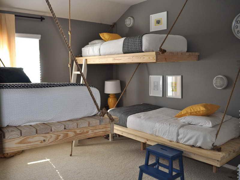 schlafzimmergestaltung wandfarbe grau - Schlafzimmergestaltung