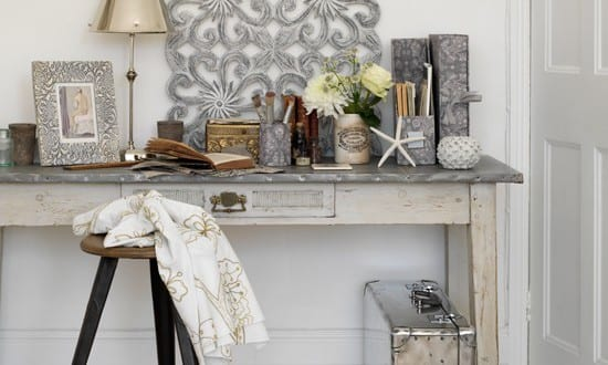 Sideboard dekorieren in wei freshouse - Sideboard dekorieren ...