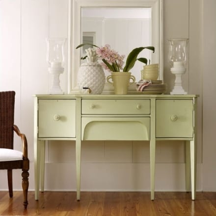 sideboard dekorieren sideboard gr n freshouse. Black Bedroom Furniture Sets. Home Design Ideas