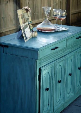 sideboard dekorieren sideboard holz freshouse. Black Bedroom Furniture Sets. Home Design Ideas