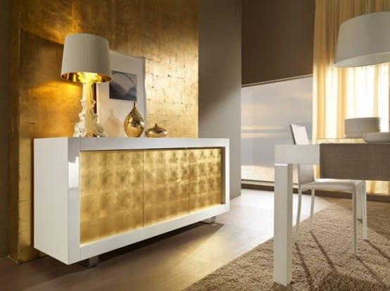 Sideboard Gold Dekorieren - Freshouse