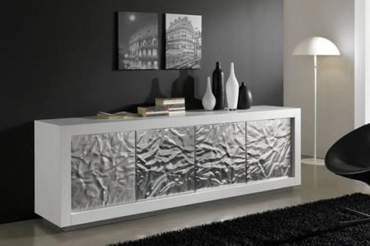 sideboard in wei dekorieren freshouse. Black Bedroom Furniture Sets. Home Design Ideas