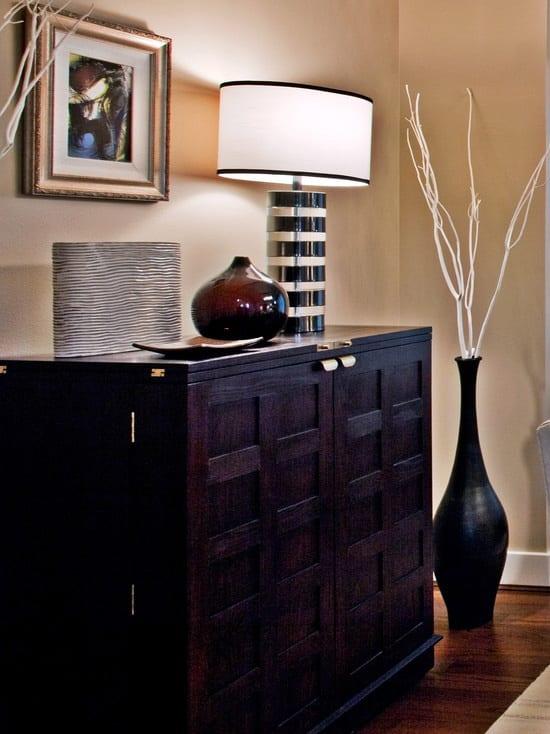 sideboard schwarz dekorieren freshouse. Black Bedroom Furniture Sets. Home Design Ideas