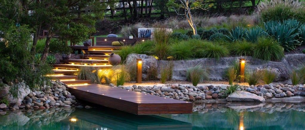 Traumgarten Garten Idee Mit Holztreppe