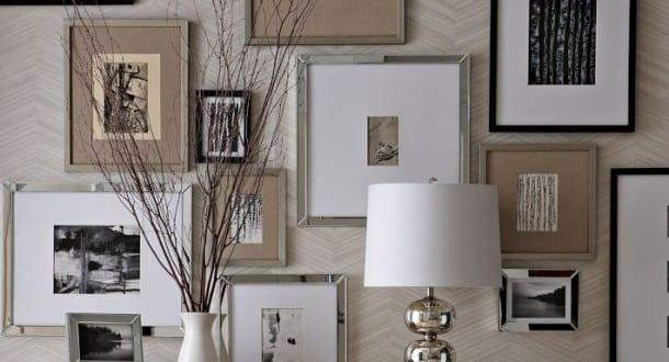 Wanddeko selber machen bilderrahmen dekorieren freshouse for Wanddeko aussenbereich