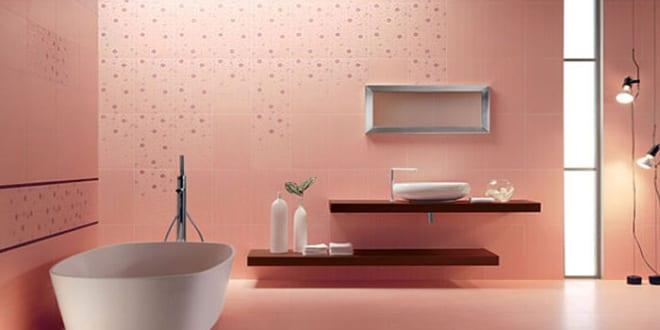 Wandfarbe apricot badezimmer fliesen idee freshouse - Wandfarbe badezimmer ...