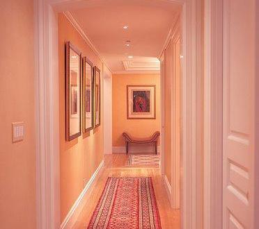 wandfarbe apricot flur farbgestaltung freshouse. Black Bedroom Furniture Sets. Home Design Ideas