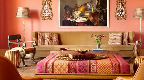 Wandfarbe Apricot U2013 Frische Wand Streichen Ideen