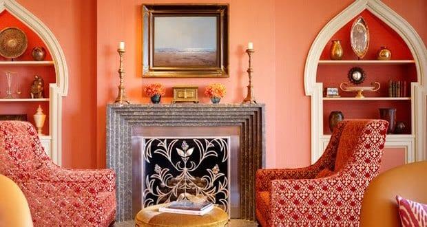 Wandfarbe Apricot Wand Bemalen