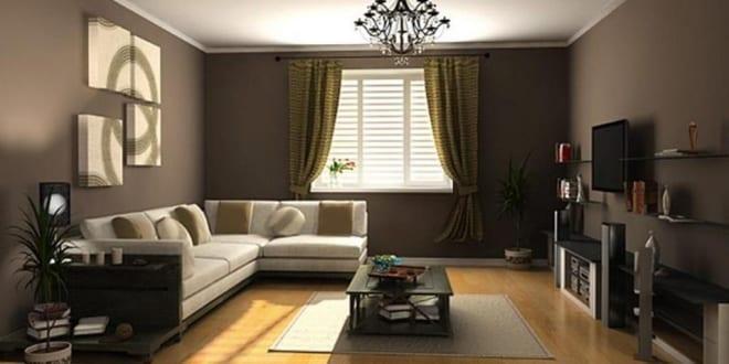 wandfarbe braun für wohnzimmer braun - fresHouse