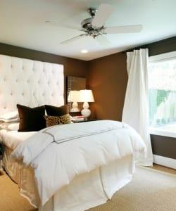Hochwertig Wandfarbe Braun Schlafzimmer Gestalten