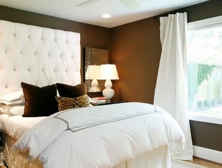 wandfarbe braun-schlafzimmer gestalten