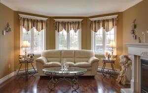 wandfarbe braun-wohnzimmer einrichtungsidee