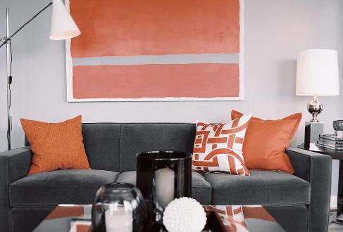Wandfarbe Grau Zimmer Streichen Ideen