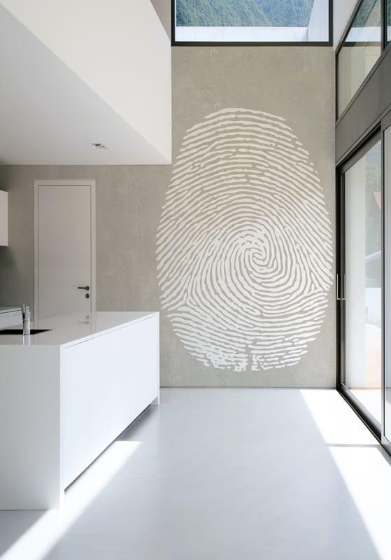 wandgestaltung küche-mustertapete für innenraumgestaltung - fresHouse