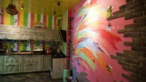 wandgestaltung küche via interiordesign2014