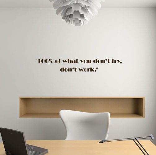 wandtattoo spr che coole deko idee freshouse. Black Bedroom Furniture Sets. Home Design Ideas
