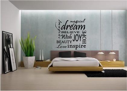 wandtattoo sprüche schlafzimmer - fresHouse