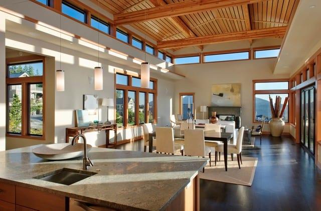 wohn esszimmer idee für modernes wohnzimmer interior - fresHouse