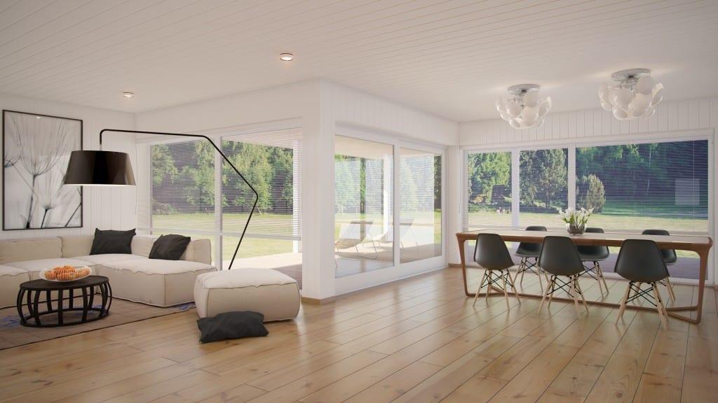Wohn Esszimmer Interior Freshouse