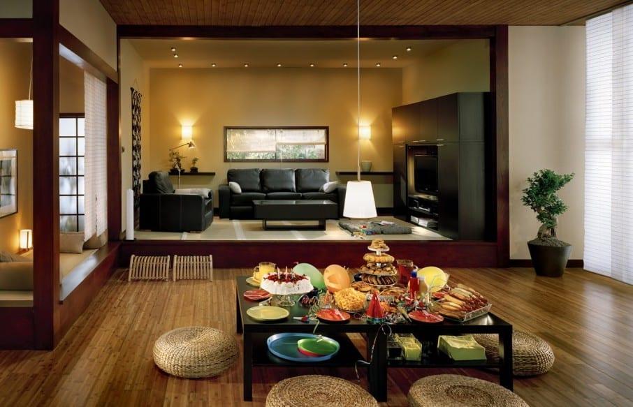 Wohnzimmer Stil | Wohn Esszimmer Stylisches Wohnzimmer Asiatischer Stil Freshouse