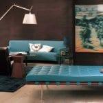 braune wandfarbe-wohnzimmer streichen