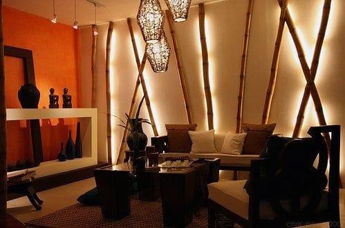 3D Wandtattoo Wellness Ruhe Bambus Zen Steine Blumen Rahmen Wandbild ...