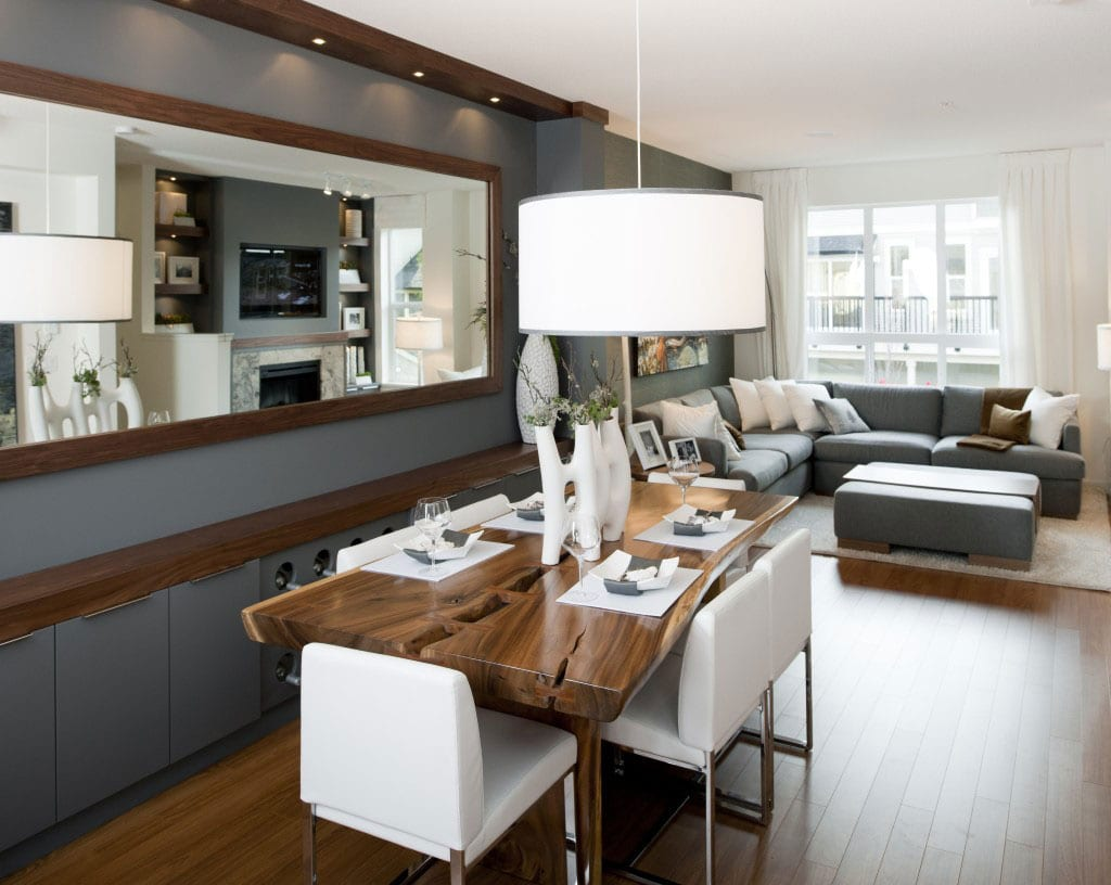 Wohnzimmer grau wohn esszimmer ideen freshouse for Ideen esszimmer