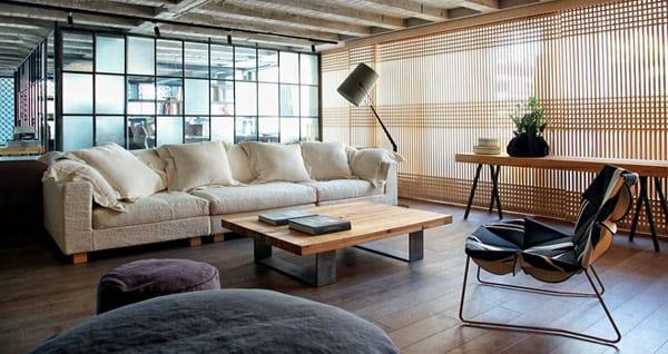 Wohnzimmer Inspirationen Loft Wohnung Design