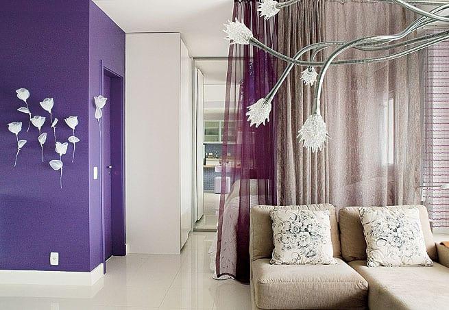 wohnzimmer lila mit gardinen lila freshouse. Black Bedroom Furniture Sets. Home Design Ideas