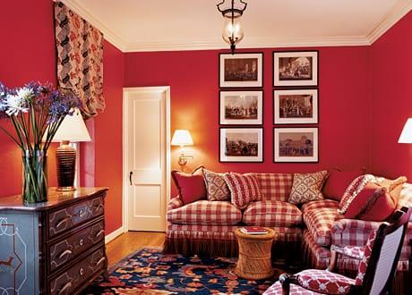 Wohnzimmer Rot Einrichtung Wohnzimmer