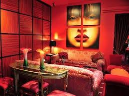 wohnzimmer rot-farbgestaltung wohnzimmer - fresHouse