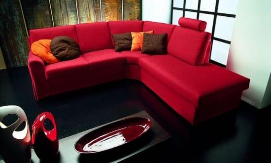 Wohnzimmer Rot Und Schwarz Freshouse