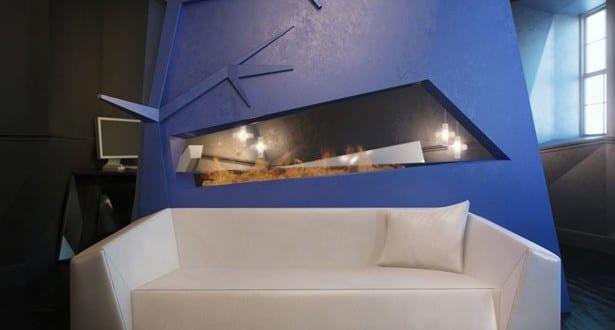 Eine Zweiraumwohnung mit ungewöhnlichem Interior