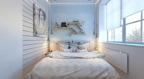 2 raumwohnung-kleines schlafzimmer inspiration mit indirekter ...