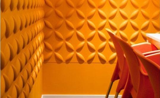 Schick und umweltfreundlich – kreative Wandgestaltung mit 3D Wandpaneelen aus Pflanzenfaser