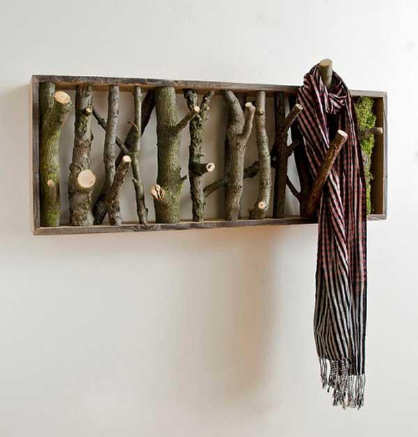 Diy Anhänger Aus Holz-Basteln Mit Naturmaterialien - Freshouse