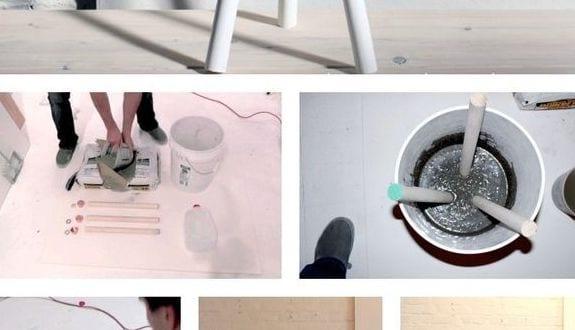diy hocker aus beton freshouse. Black Bedroom Furniture Sets. Home Design Ideas