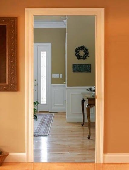optische t uschung mit fototapet k che freshouse. Black Bedroom Furniture Sets. Home Design Ideas